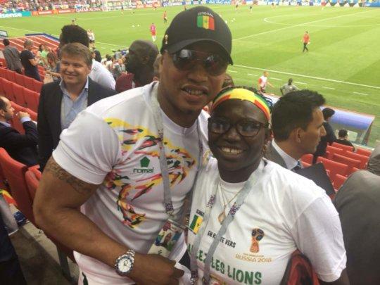 Seyni and El Hadji Diouf, former national team
