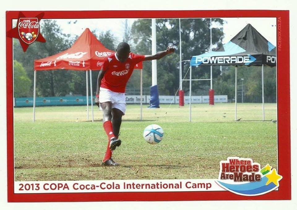 Ian, Asst.Coach of Kenya National Coca-Cola team