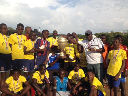 Our new U-16 Champs