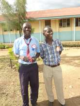 Joseph (left) and MYRC Chairman Goddie