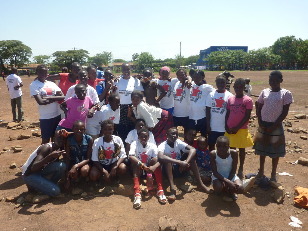The MYRC Girls Team and Coach