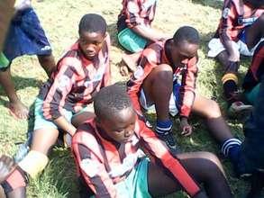Manyatta United Ladies at National Tourney