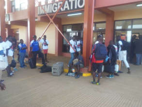 Traveling to Uganda, a first for many ManU players