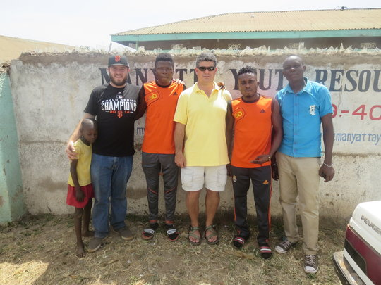 Nigerian visitors & US Embassy Rep at MYRC office