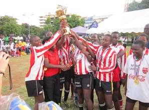 Happy Winning Ladies