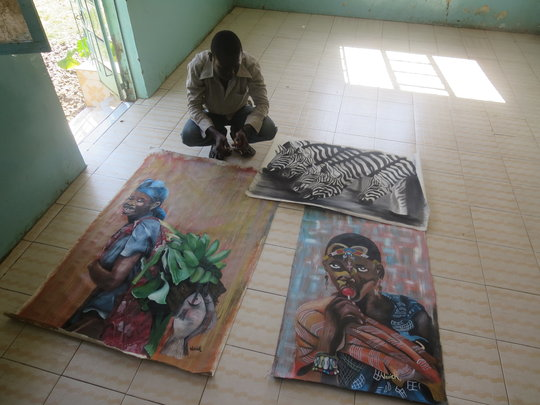 Vavick and his latest work at MYRC office