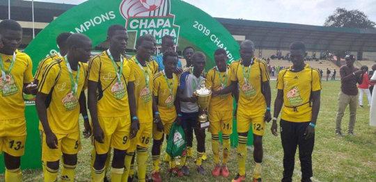 Manyatta United are the Chapa Dimba Champions!