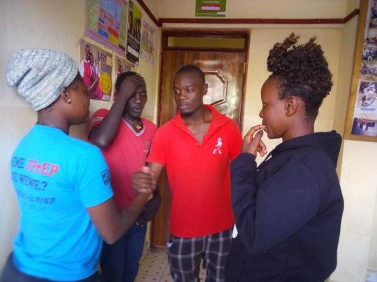 Drama Team prepares to perform