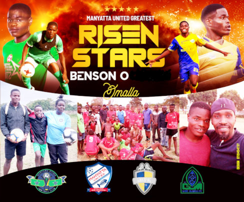 Benson, a football success and now in Sweden