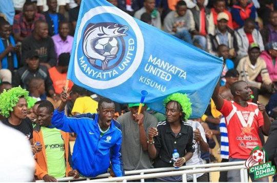 Manyatta United Fans in Meru