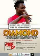 Gabiro will appear with Diamond