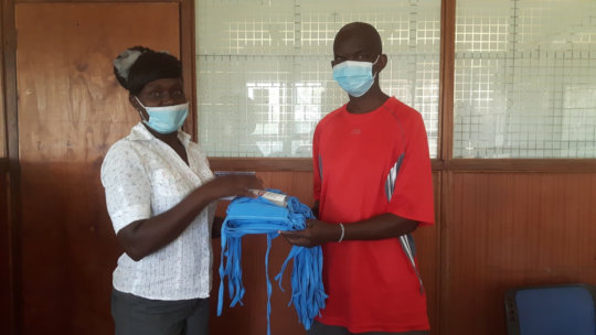 Donation of Vital Masks & Sanitizers