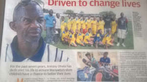 MYRC and GM Obala featured in Standard Kenya