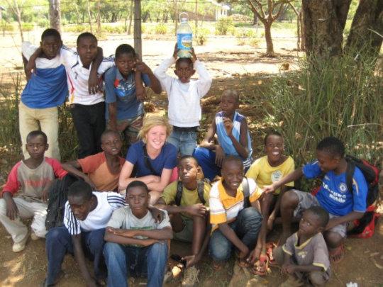 Rambo on left of Equip Manyatta Co-founder Meghan