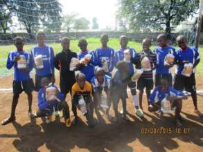 The U-10 team, one of our many winners