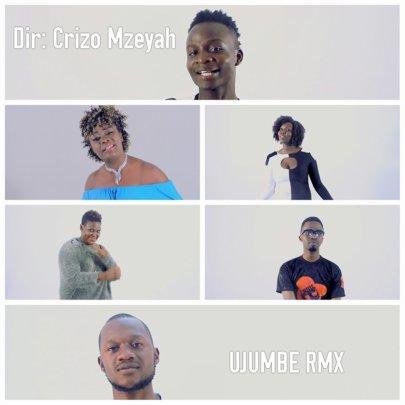 Stills from Ujumbe video shoot