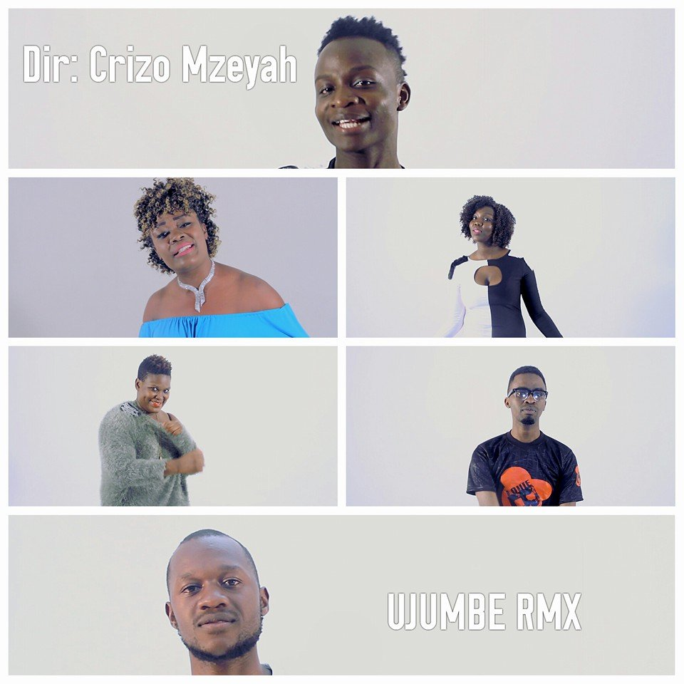 Stills from Ujumbe video shoot