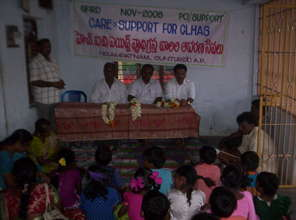 Care & Support to 160 HIV and AIDS Infected people