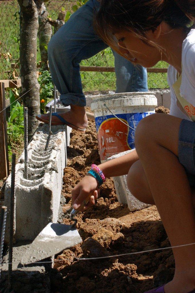 Laying Foundation Bricks