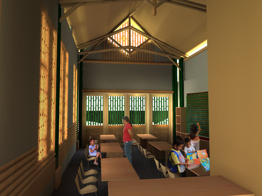 Dungga Daycare Rendering - Interior