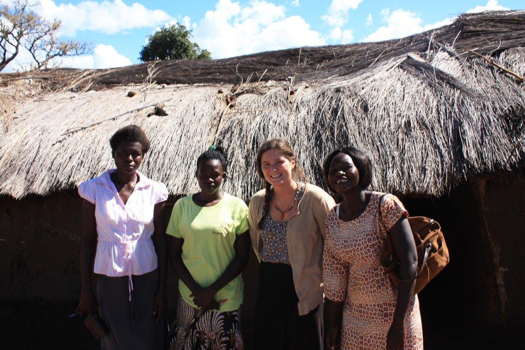 Farley of GlobalGiving, our 2 Nursery teachers