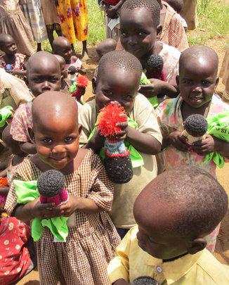 Agwata nursery students July 2012
