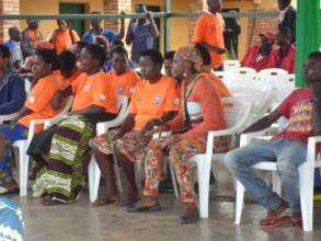 Women Beneficiaries during the outreach activity