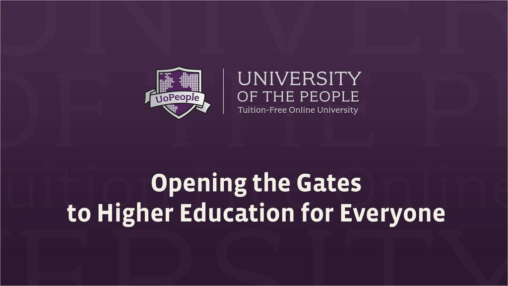 Tuition-free for everyone - let's open gates