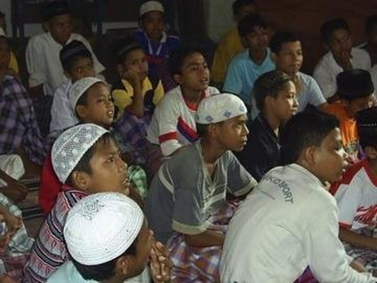 Boats for Indonesian Schoolchildren