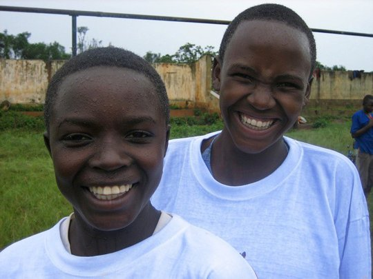 Educate 10 girls in rural Rwanda