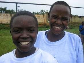 Educate 10 girls in rural Rwanda