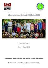 CMCC Report May-Aug 2012 (PDF)