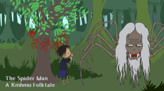 Still from The Spider Man, a Hmong Folktale
