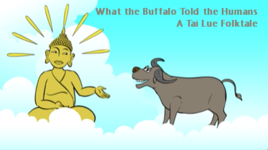 Still from an animated Tai Lue folktale