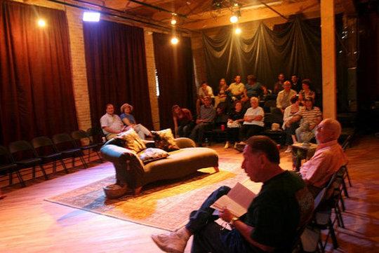 Audience Members Await Performance