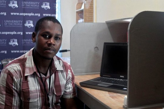Student at the Computer Center