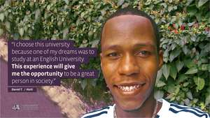 Student - Daniel T., Haiti