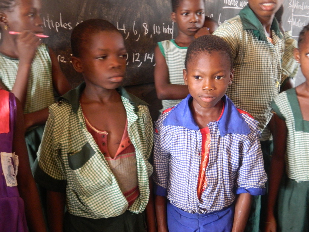 Some of the School children that needs uniforms