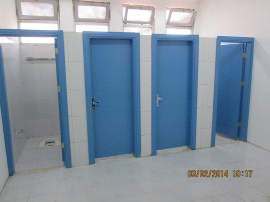 A new school bathroom renovated by JEN.