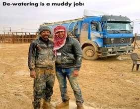 Dewatering is a muddy job !