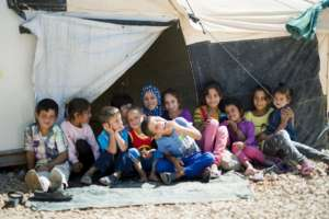 Za'atari Camp Children