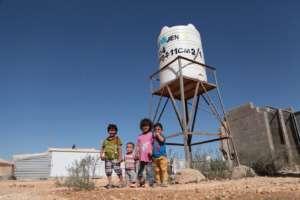 Za'atari Camp Water Tank