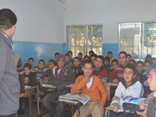 Many Students in a Classroom