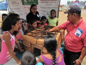 FUNDACION NATURA. Eco-efficient stoves promotion