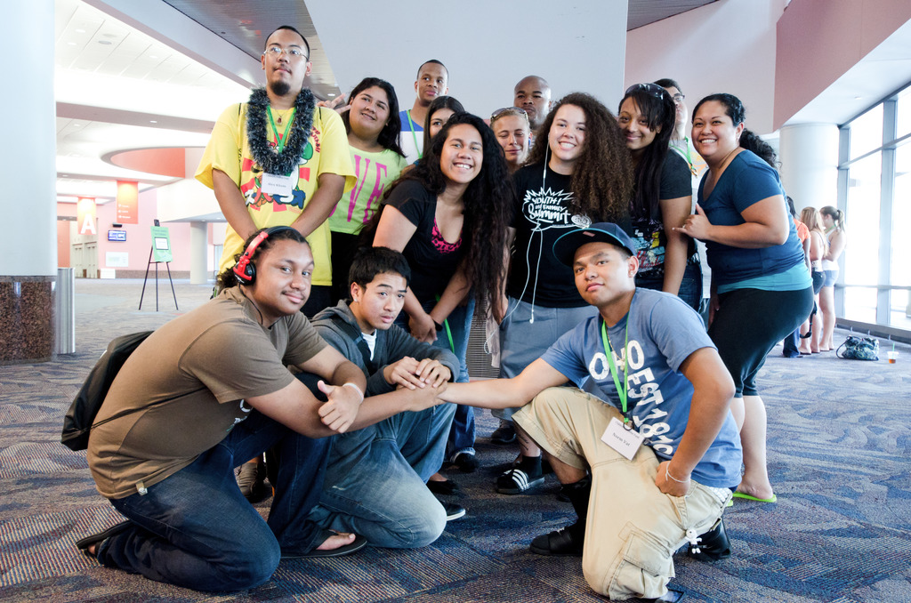 YEP enables youth to engage in positive leadership