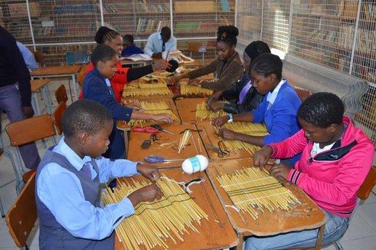 Nkulumane students in training