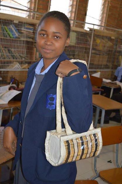 What a complete bag looks like (Nkulumane)