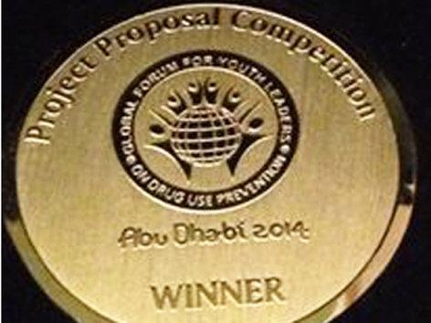 Medal won by LUT in UAE Forum