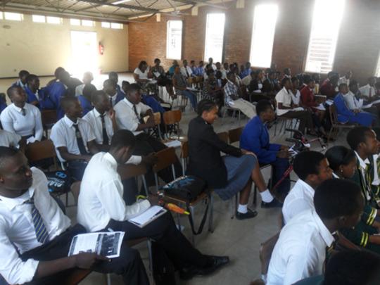 LUT students in Bulawayo student seminar