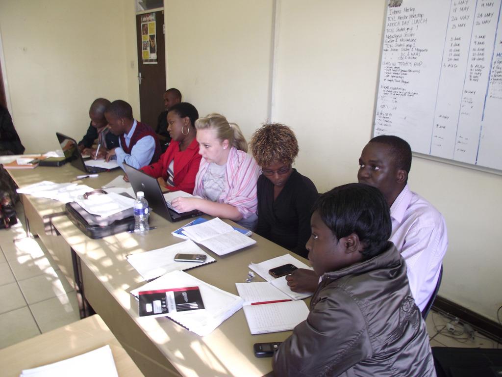 Lead Us Today 2013/4 facilitators in training